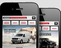 Nissan Commercial Vehicles Mobile Site