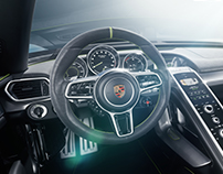 CGI Porsche 918 Sypder