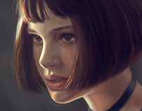 Natali Portman as Matilda from Leon movie