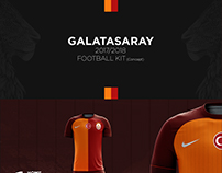 Galatasaray 2017-2018 Football Kit (Concept Design)