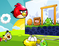 Angry Birds on SmartTV