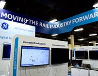 GE Transportation - ASLRRA '18 | Custom rental exhibit