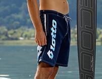 Swimming Trunks Beachwear Suit - Lotto Sport