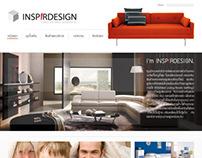 Inspirdesign | Funiture-Interior Web Design