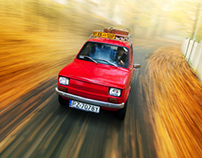Polski Fiat 126p - automotive photography