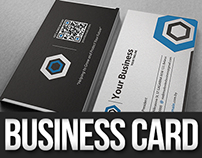 Creative Hexagon Business Card