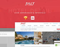 Jolly Tour - Hotel Detail Page UX-UI