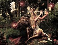 Femme Centaure Ailée Fantasy