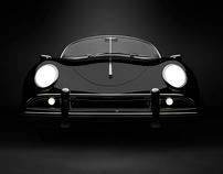 CGi black Porsche 356