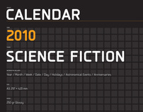 2010 Science Fiction Calendar
