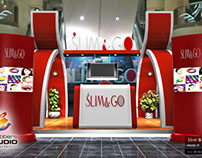 Slim & Go Booth Design and Trade Show Design
