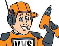 VVS Techniek - Character trademark