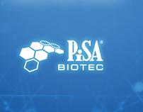 PISA Biotec Web app design