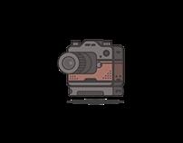 Flat Camera