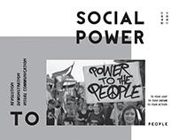 SOCIAL POWER 社會運動視覺