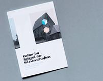 """Leaflet """"Kultur im Spiegel der Wissenschaften"""""""