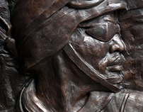 Client Work:  Pate Veterans Monument