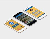Hoop It Up App / UI/UX Design