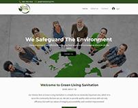 Greenlivingsanitation Website Design