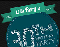 Rory b.day party