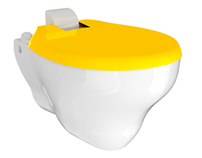 K3 - Wall-mounted toilet for kids