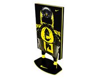 Nike Lightbox Floor Standing Display