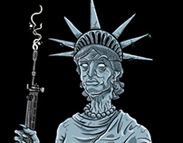 Liberty Statue 666 - STAIN!