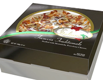 Tutto Italiano Pizza Box and Logo Redesign