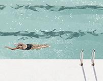 | swimmer |