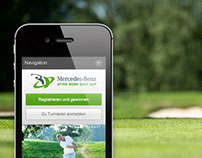 Responsive Design für Mercedes-Benz After Work Golf Cup