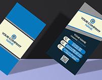 Creative Corporate Vertical Business Card