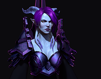Draenei - Purple Mage