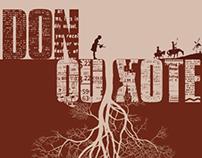 Capa de livro -Don Quixote