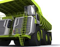 560 Ton Capacity Heavy Haul Truck Concept