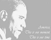 Obama Campaign Poster Design