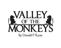 Valley of the Monkeys Book Jacket design process