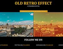 Old Retro Effect
