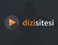 Dizi sitesi arayüz tasarımı
