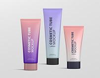 Cosmetic Tube Mockup Bundle