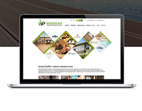 WoodPlast website design