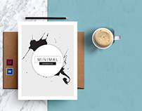 MINIMAL | Business Brochure-Indesign Template