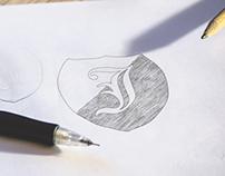 Free Logo sketch mockup