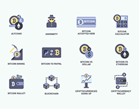 29 Bitcoin & Blockchain Icons