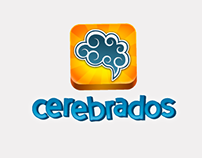 Cerebrados/Brainsquiz. Character and design icon.