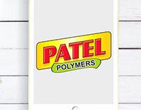 Patel Polymers logo Design