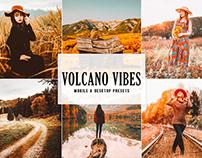 Free Volcano Vibes Mobile & Desktop Lightroom Presets