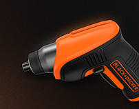 BLACK+DECKER - 4v Lithium Screwdriver
