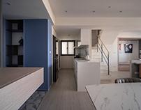 Duplex Interior Design | Mr. Dai案 親密又獨立 悠游於光譜的兩極