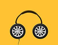 PANASONIC Headphones - Get Lost