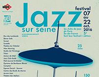 Jazz sur seine 2016